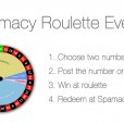 Spamacy Monthly Roulette Event!